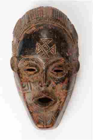A Fine African Chokwe Mask, Angola