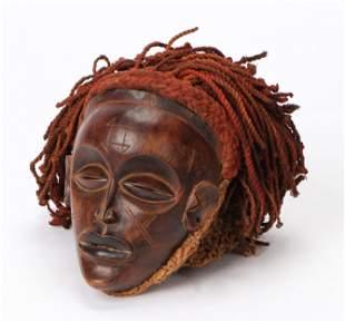 A Fine African Chokwe Pwo Mask, Angola