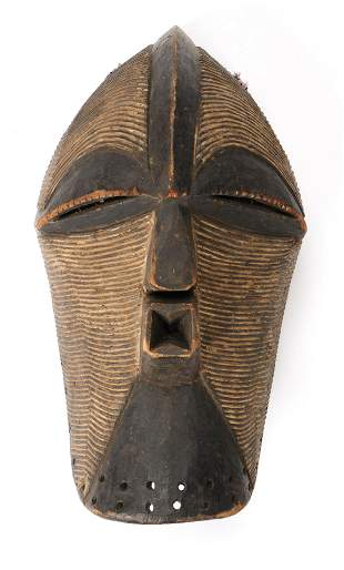 Fine African Songye Kifwebe Dance Mask