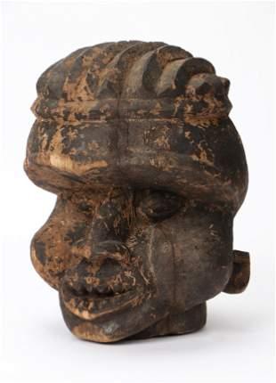 African Bangwa Helmet Mask, Cameroon