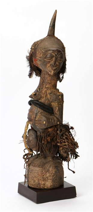 Energetic Songye N'kisi Fetish Figure