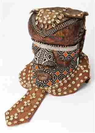 African Kuba Bwoom Mask