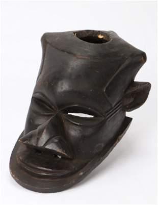 African Kuba Ngeende Helmet Mask, DRC/ Congo