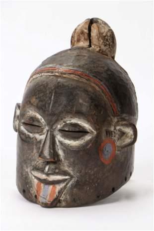 African Suku Helmet Mask, DRC/Congo