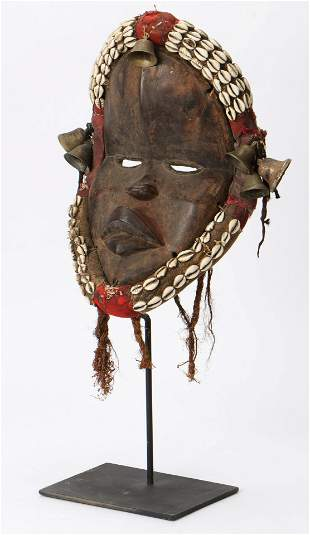 African Dan Mask, Ivory Coast