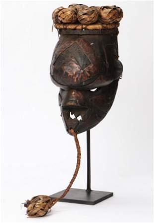 African Salampasu Mask, DRC/Congo