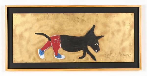Earl Swanigan (American, 1964-2019) Painting