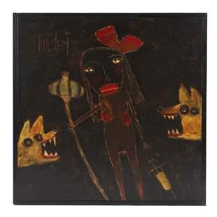 Dave Tinsley (American, b. 1951) Painting