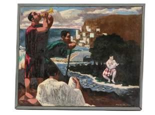 Jack Gerber (1927-2021) Painting, 1953
