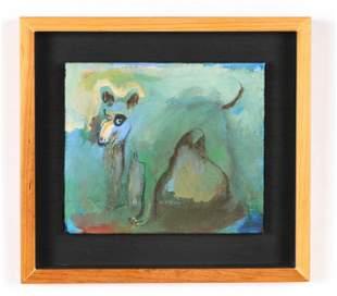 """Richard Lethem (b. 1932) """"Three Legged Mexican Dog"""""""