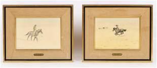 Leonard Reedy (American, 1899-1956) Two Works