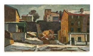 """Giovanni Martino (1908-1997) """"Cotton Street"""""""