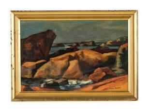 "Giovanni Martino (1908-1997) ""New England Coast"""