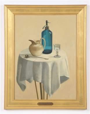 """Eva Marinelli Martino (b. 1929) """"Blue Seltzer Bottle"""""""