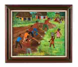 Dieudonne Pluviose (Haitian b. 1928)