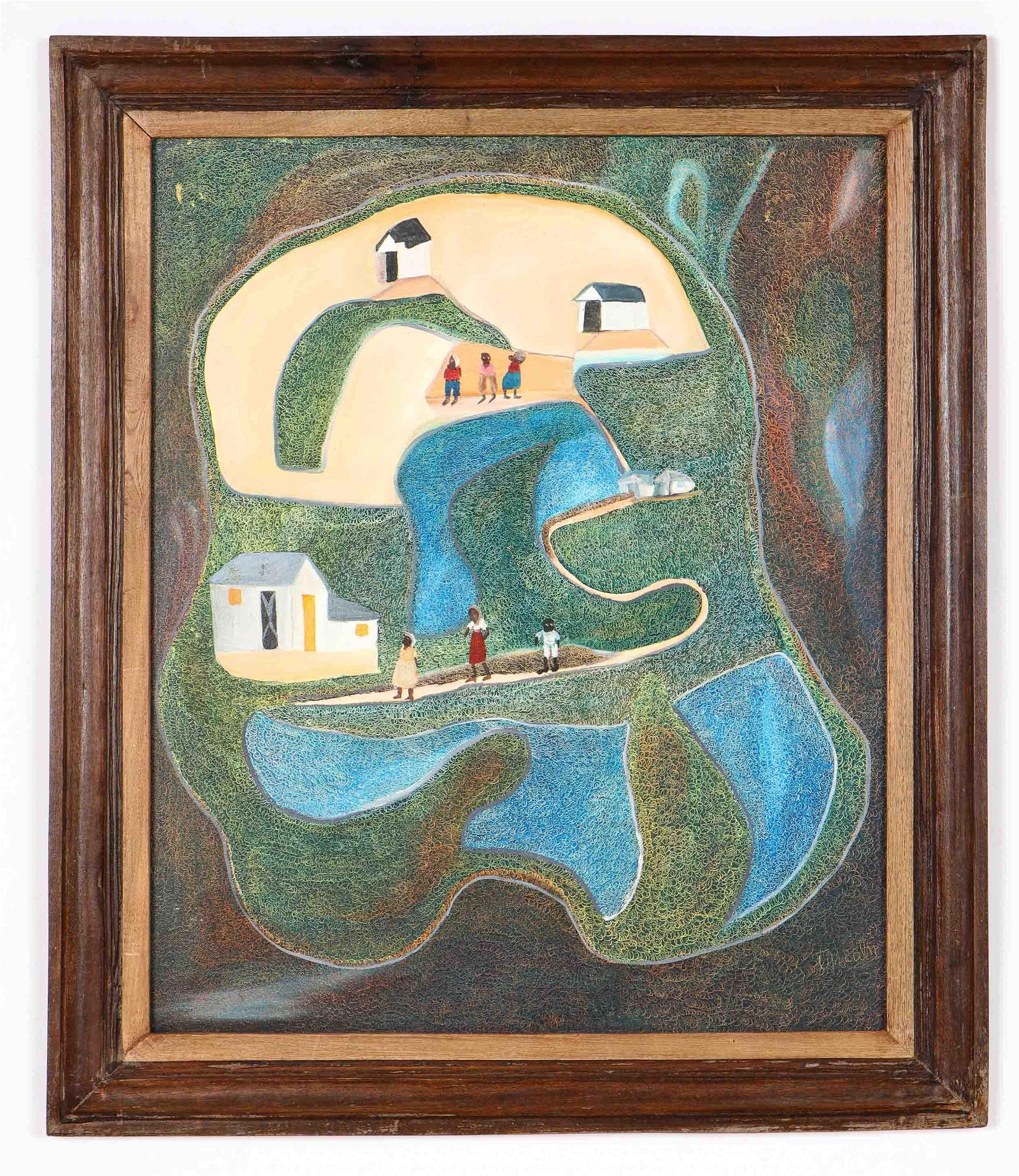 """Ermistral Charles """"Thialy"""" (Haitian, b. 1937)"""