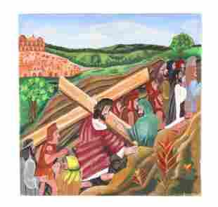 Julien Valery (Haitian, 1958-2001) Painting