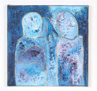 Levoy Exil (Haitian/Fermathe, b. 1944) Painting