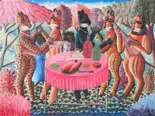 Fritz Merise (Haitian/ Port-au-Prince, b. 1946)