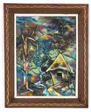 Paul Beauvoir (Haitian, 1932-1972) Painting