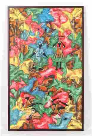 Roland Cajuste (Haitian 20th c.) Painting