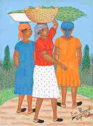 Eric Phanord (Haitian/Cap Haitien, b. 1955)