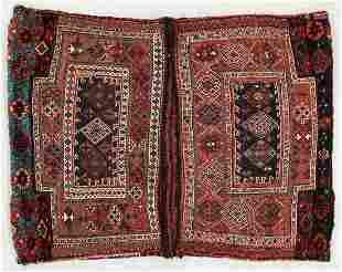 Pair of Baktiari Joined Saddlebags, Persia, Early 20th