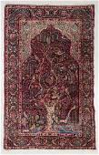Yazd Prayer Rug, Persia, Late 19th C., 4'9'' x 7'6''