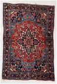 Bidjar Rug, Persia, Early 20th C., 3'7'' x 5'5''