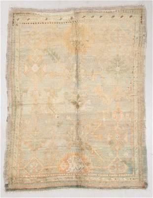 Oushak Rug, Turkey, Circa 1900, 5'1'' x 6'6''