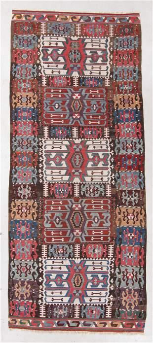 Central Anatolian Kilim, Turkey, 19th C., 5'8'' x