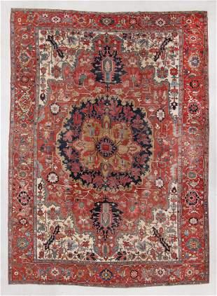 Serapi Rug, Persia, Late 19th C., 12'5'' x 17'5''
