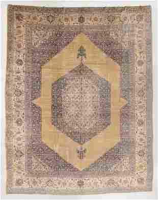 Fine Tabriz Rug, Persia, Circa 1900, 11'6'' x 14'6''