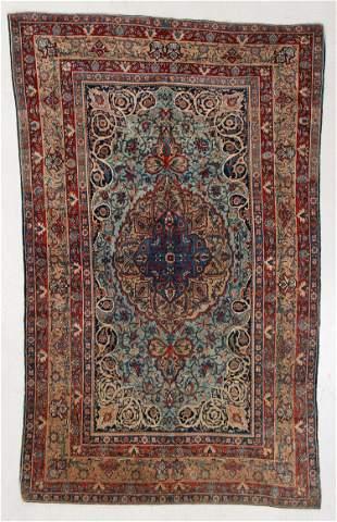 Fine Tehran Rug, Persia, Circa 1900, 4'4'' x 7'3''