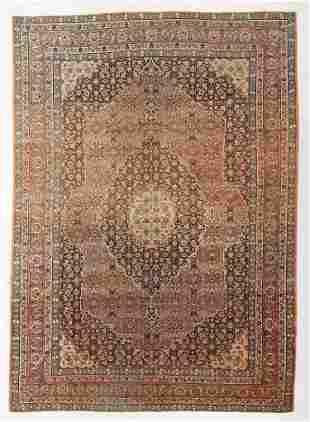 Tabriz Rug, Persia, Circa 1900, 9'1'' x 12'9''