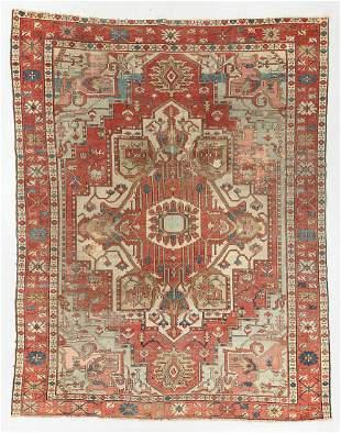 Serapi Rug, Persia, Late 19th C., 8'4'' x 10'10''