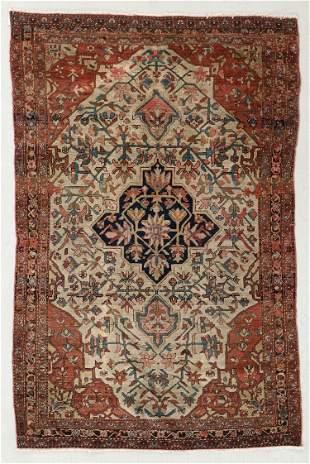 Ferahan Sarouk Rug, Persia, Circa 1900, 4'3'' x 6'5''