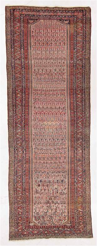 Malayer Rug, Persia, Late 19th C., 5'8'' x 16'0''