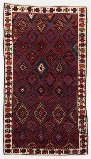 Jaff Kurd Rug, Persia, Circa 1880, 4'2'' x 7'7''