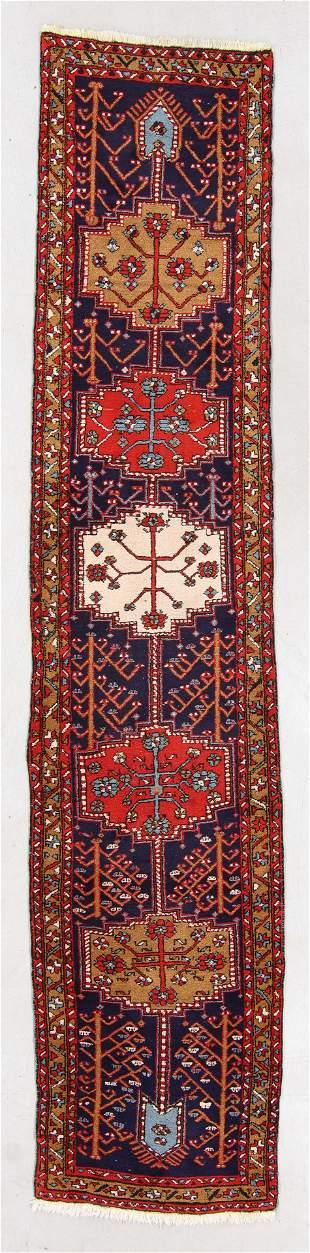West Persian Kurd Rug, Mid 20th C., 2'8'' x 13'9''