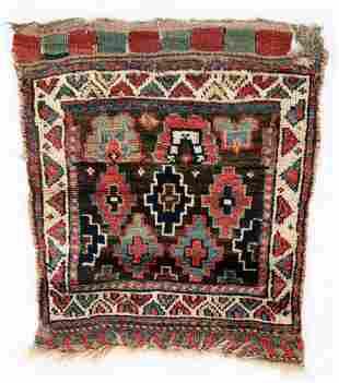 West Persian Kurd Bag, Late 19th C.