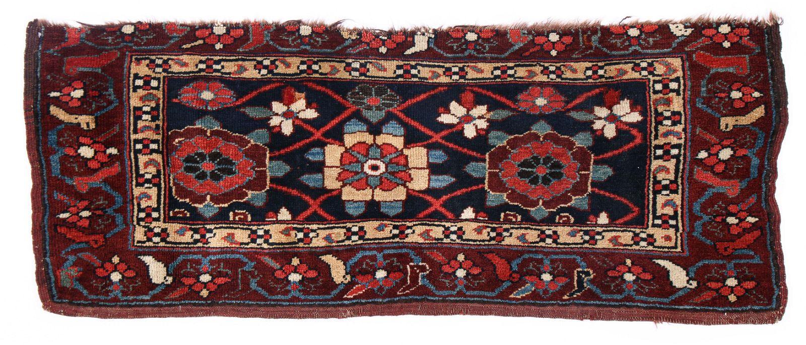West Persian Kurd Rug, Late 19th C., 3'8'' x 1'4''