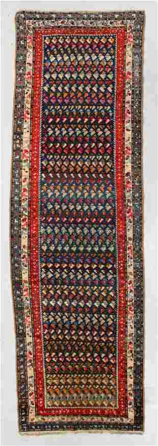 West Persian Rug, Circa 1900, 3'11'' x 12'9''