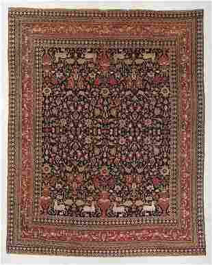 Khorrasan Rug, Persia, Circa 1900, 10'9'' x 13'3''