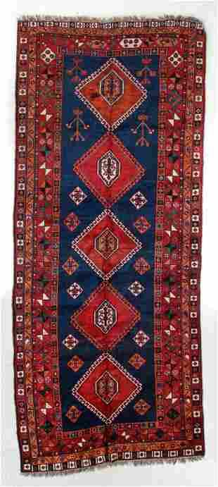 Afshar Rug, Persia, Circa 1900, 4'7'' x 11'1''