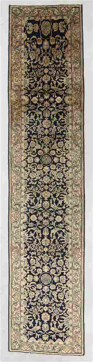 Agra Rug, India, Early 20th C., 3'4'' x 14'5''