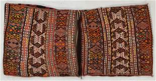 East Anatolian Kurd Sumak Saddlebags, Turkey, Early
