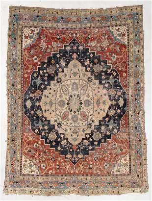 Tabriz Rug, Persia, Early 20th C., 6'6'' x 9'4''