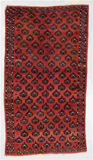 Turkmen Rug, Early 20th C., 4'0'' x 6'11''