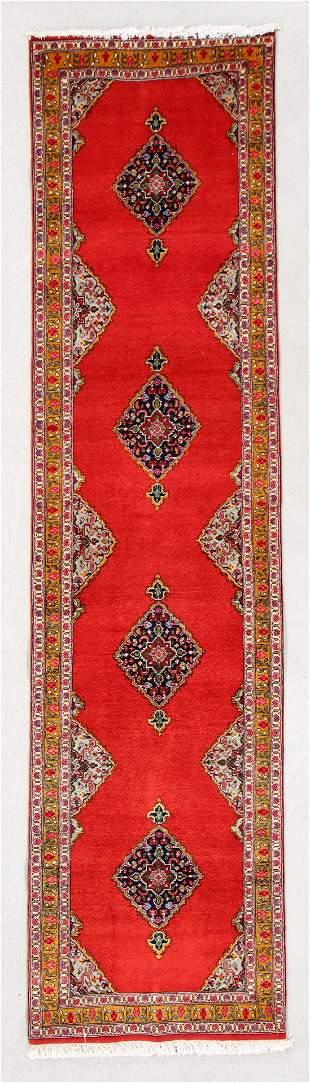 Tabriz Rug, Persia, Mid/Late 20th C., 2'5'' x 9'5''